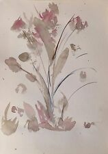SPRING FLOWERS original artwork watercolor painting directly from the artist NEW