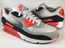 Nike Air Max 90 OG Infrared White Grey Black Mens Size 11.5 Rare 725233-106