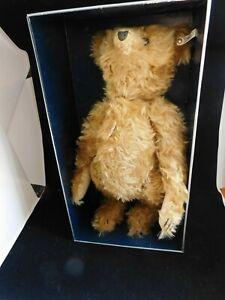 """20"""" Steiff Teddy Bear Bar 35 PB 1904 Limited Edition Mohair Bear MIB"""