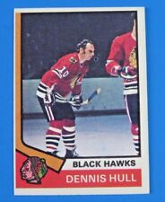 1974 TOPPS ~ DENNIS HULL HOCKEY CARD #150 ~ EX/MT
