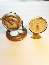 Vintage alarm clock parts