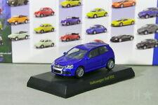 Kyosho 1/64 VW Golf V R32 Blue MK5 Volkswagen Miniature car Collection 2008