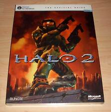 Halo 2 II-The Official Guide-games for winows (PC Asesor guía) nuevo embalaje original