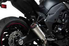 Kawasaki Z1000 Red Power Slip-on (Pair) Brushed Stainless Scorpion Exhaust