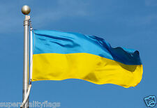 NEW 3x5 ft UKRAINE UKRAINIAN  FLAG
