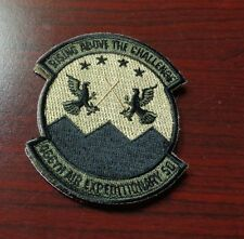 AIR FORCE PATCH, MULTI-CAM, 466TH AIR EXPEDITIONARY SQUADRON, W/VELCR