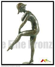 100% Real Bronze sculpture Dance of the Harlequinade, art deco bronze statue