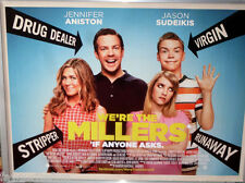 Cinema poster: WE'RE THE MILLERS 2013 (Quad) Jason Sudeikis Jennifer Aniston
