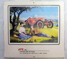 AUTOMOTIVE PARTS AND SERVICE  MILWAUKEE, WISCONSIN1982 CALENDAR