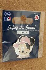NY New York Mets Minnie Mouse portrait Disney lapel pin MLB