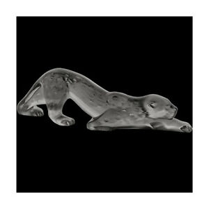 GENUINE LALIQUE Panther Zeila Grey (10491800) FREE DELIVERY