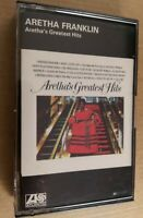 Aretha Franklin : Aretha's Greatest Hits : Vintage Tape Cassette Album From 1971