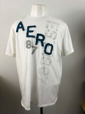 AEROPOSTALE MEN'S COTTON CREW NECK PATCHED LETTERS T-SHIRT SIZE XXL  A32-21