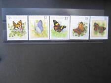 NEW ZEALAND NHM SET-1991-5 BUTTERFLIES SG 1635/9