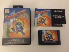 Sega Mega Drive Spiel Sparkster CIB / OVP Sammlungsauflösung