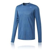 Abbiglimento sportivo da uomo blu adidas manica lunga