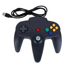 PREMIUM Black N64 USB Game Controller Nintendo 64 for PC Windows/MAC Gamepad