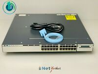 Cisco WS-C3750X-24T-S • 24-Port Gigabit Ethernet Switch ■SAMEDAYSHIPPING■