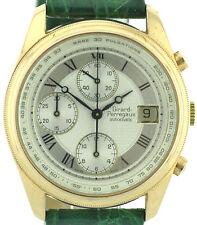 Girard Perregaux señores vintage chronograph 750/18k Gold 90'er años ref. 4910