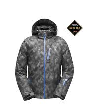 $449! NWT Spyder Men's Tripoint GORE-TEX Ski Jacket Cloudy Tonal / Turkish Sea L