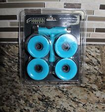 Street Flyer 60 x 45 mm PVC Wheels T-Wrench Skateboard Roller Model SF-174- Blue