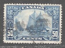 CANADA STAMP #158    ---- 50c BLUENOSE -- 1929 -- USED