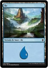 MTG Magic KTK FOIL - Island/Île, #257, French/VF