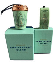 Starbucks 50th Anniversary Siren Ornament Set 2021 Mermaid Cup Sack Bag -no card