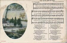 PC60645 The Seven Joys of Mary. Old English Carol. Frank Adlam. 1914