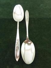 2 Vintage Epns silver plated Elkington serving Table spoons
