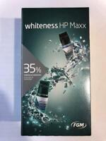 FGM Whiteness HP Maxx Hydrogen Peroxide whitening gel.
