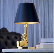 New Modern Golden Gun Table Lamp Desk Light Beside Lamp Working Study Lighting