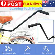Push Handle Bar Bike Bicycle Assistance Handle Parent Handle Black for Kids 2020