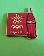 1988 Calgary Winter Olympics Coca Cola Sponsor Pin