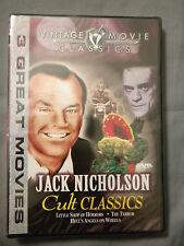 Jack Nicholson - Jack Nicholson Cult Classics (DVD, 2003) WORLD SHIP AVAIL