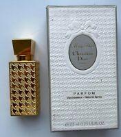 CHRISTIAN DIOR MISS DIOR PARFUM 7,5 ml 0.25 fl oz SPRAY GOLD CASE VINTAGE
