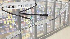 10ft commercial fridge LED light + ETL Listed 12v waterproof power supply
