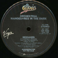 "Orchestral Manoeuvres in the Dark Enola Gay B/W Messages 12"" Vinyl Record PROMO"
