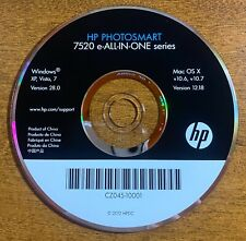 HP Photosmart 7520 e-ALL-IN-ONE series CD