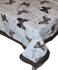 Tovaglia Copritavolo copritavolo rettangolare x 6 copri tavolo farfalle