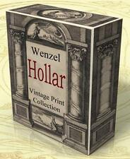 WENZEL HOLLAR 1,979 Vintage Prints Etchings on 2 DVD's! Engravings Illustration