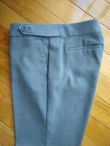 Ann Taylor /Loft Marissa Trouser Pant. Gray, Size 14 Tall.