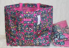 NWT! VERA BRADLEY Drawstring Family Tote Bag & Beach Towel Kaleidoscope Rosettes
