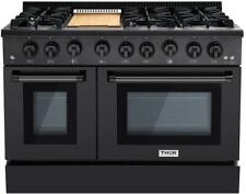 Nib Thor Kitchen 48 Inches Bs 6 Burners Professional Double Oven Range Hrg4808Bs