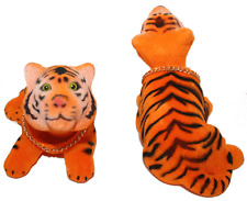 Striped Tiger Bobble Head Cat