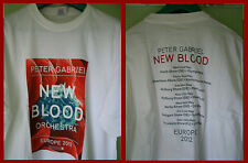 Peter Gabriel-Tour T-Shirt (L) neuf et non porté