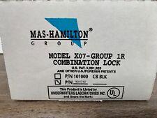 MAS-HAMILTON X07 Combination Lock 101012