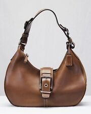 Coach Hampton Saddle Brown Leather 7548 Shoulder Bag