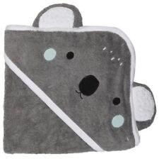 Kids Baby Cotton Koala Animal Hooded Shower Bath Towel Soft Absorbent Grey