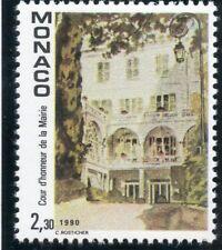 STAMP / TIMBRE DE MONACO N° 1709 ** VUE DU VIEUX MONACO / COUR D'HONNEUR MAIRIE